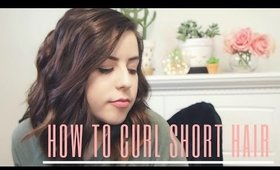 How to Curl Short Hair The Easiest Way