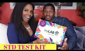 BEST At Home HIV- Herpes test! myLAB Box- No health insurance!