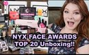 NYX FACE AWARDS | Top 20 Unboxing!!! WE MADE IT!!