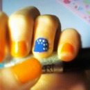 Iron Bru nails - beginners