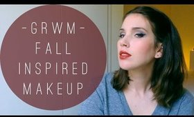 GRWM - fall inspired makeup