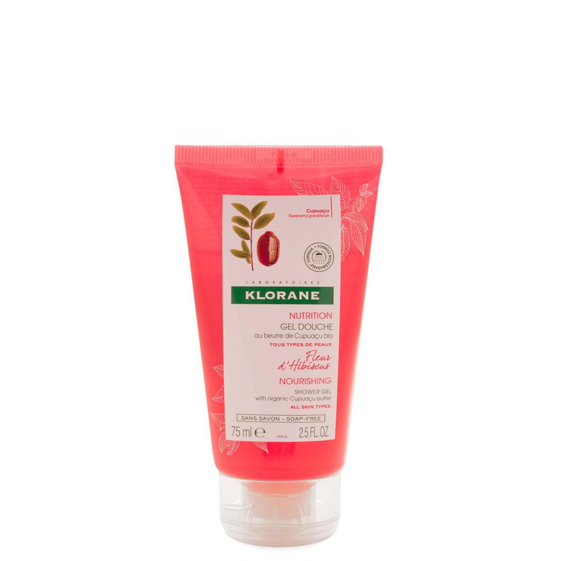 Klorane Hibiscus Flower Shower Gel with Cupuaçu Butter 2.5 fl oz product swatch.