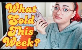 What Sold on Poshmark and Ebay   Making $200 in 1 Week!   Part Time Reseller