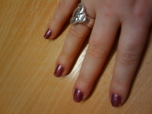 OPI meet me on star ferry after 5days wear