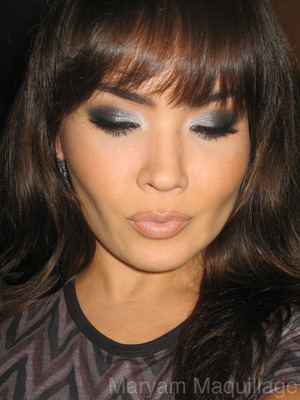 Sparkly smokey eyes for NYears :) http://www.maryammaquillage.com/2011/12/sparkly-eyeballs-for-2012.html