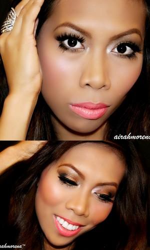 "Ja Lo ""On the floor"" inspired makeup"