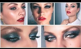5 Holiday Palettes, 5 Party Looks