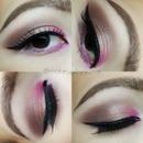 Pop Of Pink Makeup