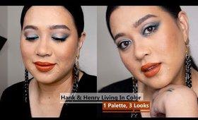 3 Looks, 1 Palette Pt 1 Hank & Henry Living in Color