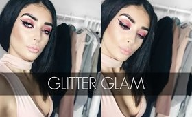 Pink Glitter Glam |Color Series Ep. 1| -Violet Voss, Hourglass Cosmetics, Sigma Beauty, & more