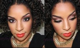 Jennifer Hudson Inspired Makeup Tutorial!