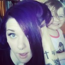 How I got Bright Purple hair!