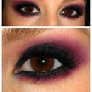 Raspberry Smokey Eye