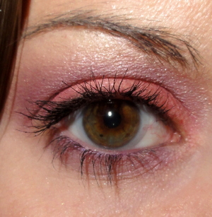 Pink and Purple Makeup of the Day