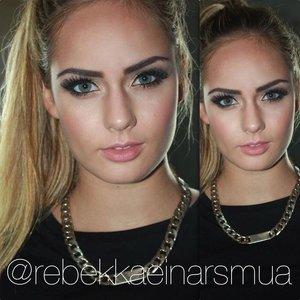 Instagram: @rebekkaeinarsmua  Facebook.com/rebekkaeinarsmua