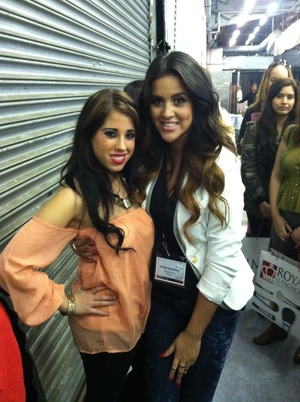 You tube beauties I love her<3 biggest sweetheart ever!! At imats NYC <3
