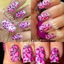 Glitter Pink Leopard