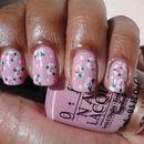 Pretty Pink Pastel Nails