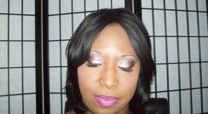 Bronzy Pink Smokey Eye Look. Video on Youtube titled ♥Sunburn Smoked Out Fabulousness♥