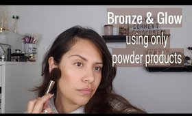 How I get GLOWING skin using Powder Products- Drugstore Favorites