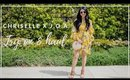 Chriselle X J.O.A. Collection Haul + Try On