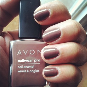 Avon Nail Wear Pro Nail Enamel in Vintage Boutique