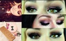 TUTORIAL: Glittery Pink Valentines Day Look Using Urban Decay Naked 3 Palette