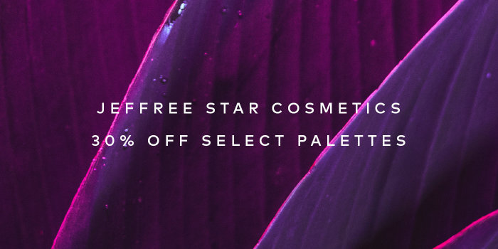 Shop up to 30% off Jeffree Star Cosmetics palettes