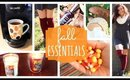 Fall Essentials | Favorite Fall Things