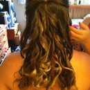 hair for graduation