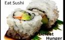 Sushi defeats Godzilla :D