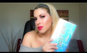 MMMMITCHELL X BPERFECT COSMETICS SUB ZERO PALETTE | REVIEW DEMO SWATCHES