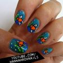 Underwater Nail Art