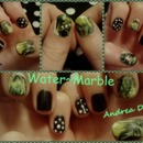 Green Water~Marble