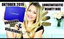 Lookfantastic Beauty Box Oktober | UNBOXING & VERLOSUNG 😍