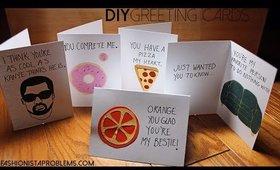 Last Minute DIY Valentines Greeting Cards