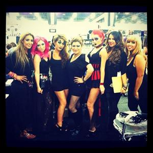 Me & the Ruby Girls at IMATS