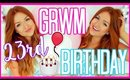 GET READY WITH ME: BIRTHDAY! Makeup, Hair & Outfit!