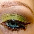 Wearable Acid Green Cat-Eye