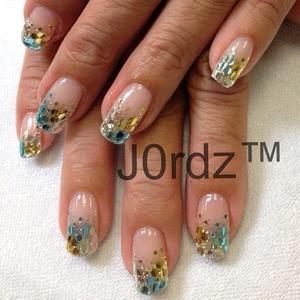 http://fingertipfancy.com/gold-silver-blue