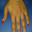 French Nails/Christmas Nails/Red French