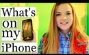 What's On My iPhone // Gold iPhone 6