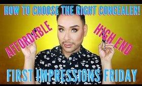 Affordable Concealer VS High End Concealer !!! | mathias4makeup