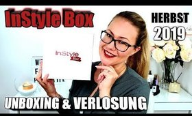 InStyle Box Herbst Edition 2019   UNBOXING & VERLOSUNG