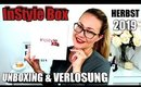 InStyle Box Herbst Edition 2019 | UNBOXING & VERLOSUNG