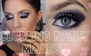 ♡ Glam Clubbing Party Makeup - Smokes and Sparkles ♡