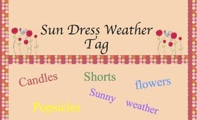 😎🌴Sundress Weather Tag😎🌴