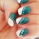 Nail art by me :D