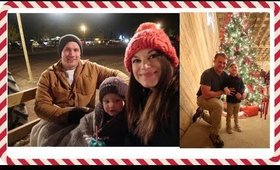 SUPPER WITH SANTA | CHRISTMAS LIGHT HAYRIDE AT MIKES FARM