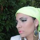 Maquillage vert limon